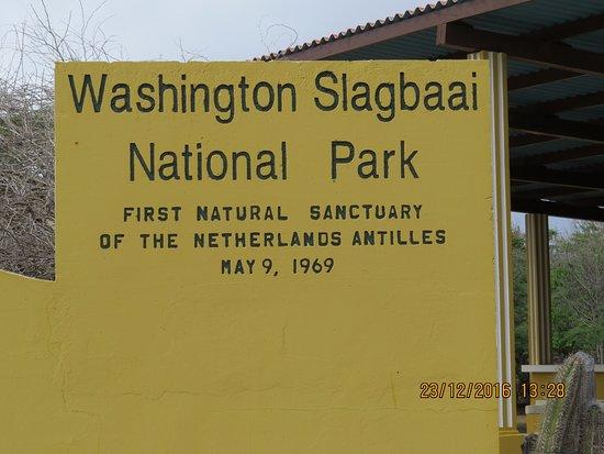 Washington-Slagbaai National Park, Bonaire: entrada