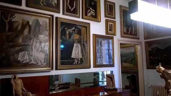 Casa Museo Boschi Di Stefano.Sala 5 Mario Sironi Picture Of Casa Museo Boschi Di Stefano