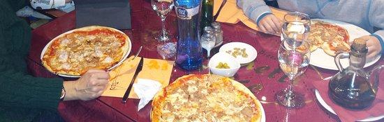 Vila Seca, España: Pizzas muy buenas!!!!