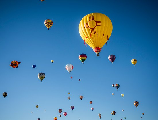New Mexico: Albuquerque International Balloon Fiesta