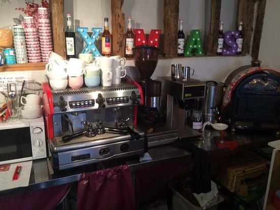 Needham Market, UK: The inside of Coffee, Craft 'N' Moore