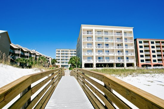 Hilton Garden Inn Orange Beach Boardwalk From The