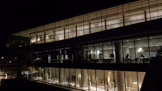 Μουσείο Ακρόπολης: Vista exterior
