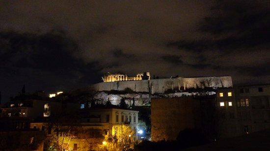 Μουσείο Ακρόπολης: Vista desde la terraza