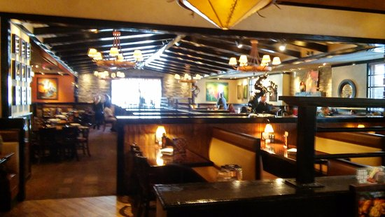 Rustic dining room picture of longhorn steakhouse
