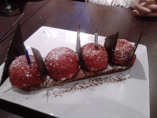 Saint-Hilaire-du-Harcouet, France: le dessert