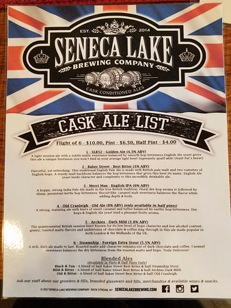 Dundee, NY: Fresh ask ale delivered to your glass