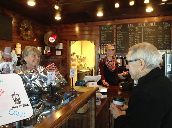 Greenville, ME: Kineo Coffee Station