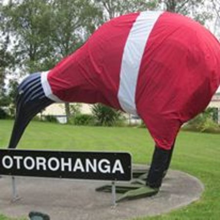 Otorohanga, New Zealand: Giant Kiwi Santa