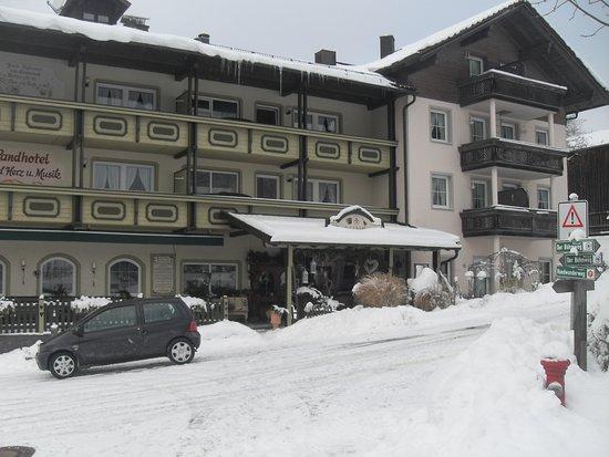 Regen, Alemania: Hotel von aussen