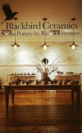 Saundersfoot, UK: Blackbird Ceramics