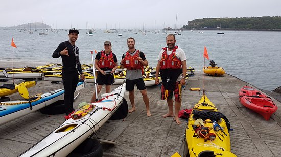 Fergs Kayaks Auckland: Our amazing guides