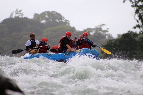Puerto Viejo de Sarapiqui, Costa Rica: Rafting with Family