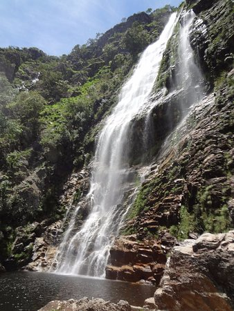 São Roque de Minas, MG: Poço maravilhoso para banho!