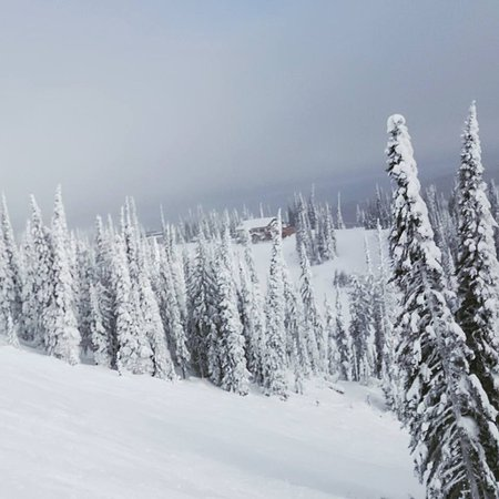 Sun Peaks, Canadá: View from crystal chair