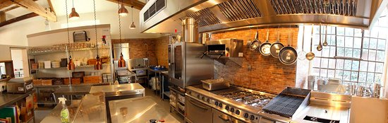 Buckingham, UK: Inside view of our kitchen.