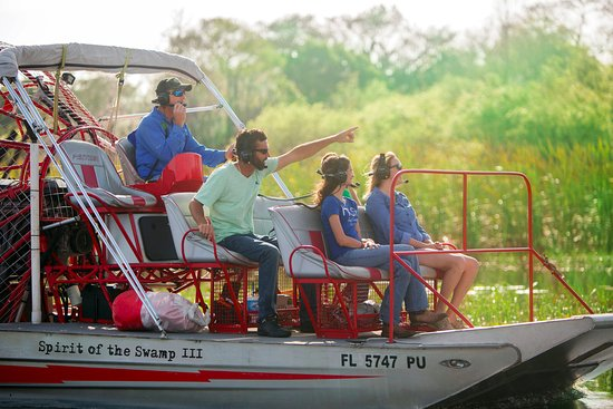 Spirit of the Swamp Airboat Rides: Making family memories that last a lifetime!