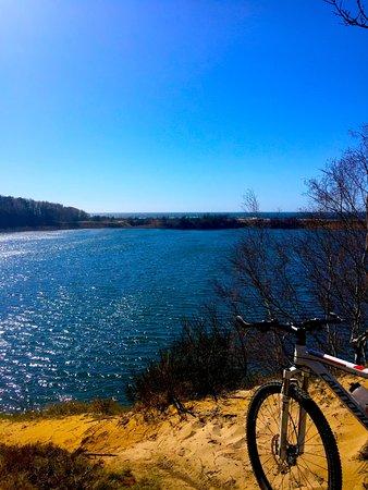Roenne, Denmark: En smuk tur omkring Pyritsøen, 800 m fra Hotel Skovly