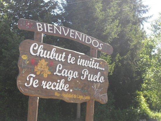 Puelo, Argentina: En la entrada