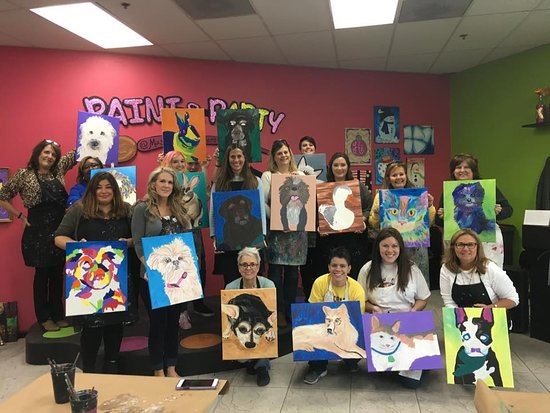 Johns Creek, GA: Paint Your Pet! This class is amazing!!!