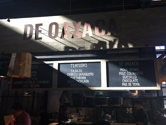 El Merkado: The De Oaxaca Kitchen