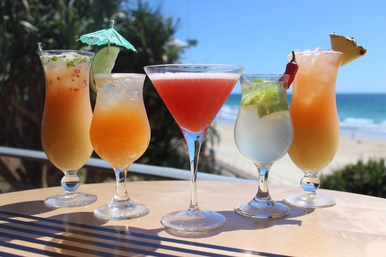 Coolum Beach, Avustralya: Refreshing cocktails!