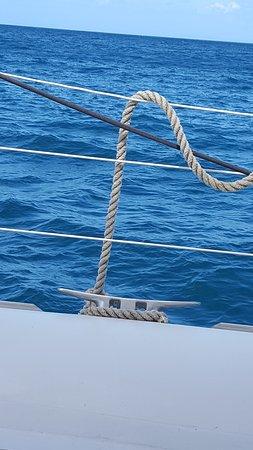 Excursions Passion Catamaran: Que dire la mer est magnifique