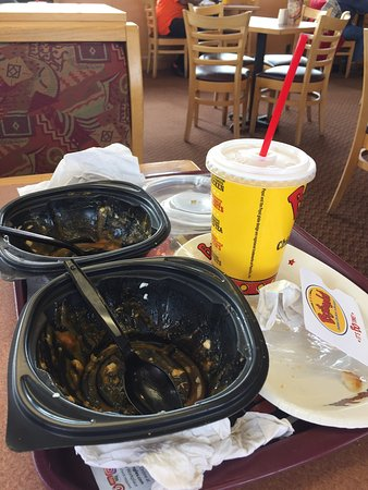 King, NC: My sister gave me a Bojangles gift card for Christmas. On our first stop we both got the pulled