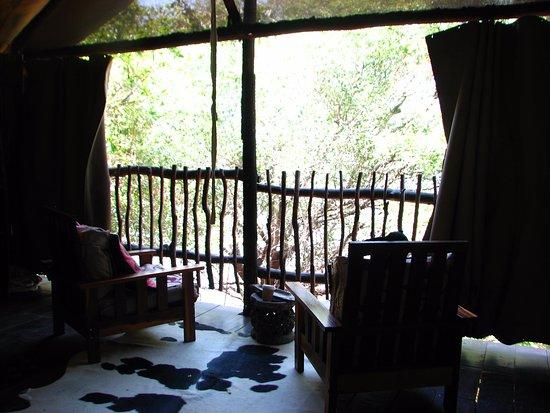 Katima Mulilo, Ναμίμπια: Room sitting area.