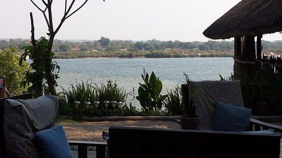 Katima Mulilo, Namibia: View from the breakfast area.