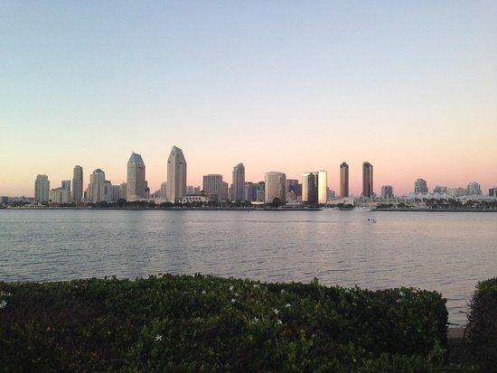 Coronado, CA: Vista para San Diego