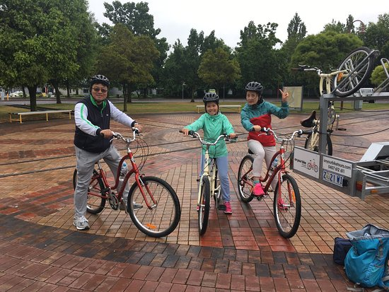 Invermay, Australia: Awesome way to get to know Launceston in a very relaxed cycling tour.  Alison is a great person