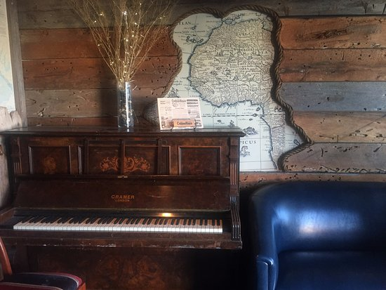 Piano corner, Westwind Pub 4940 Cherry Creek Rd, Port Alberni, British Columbia