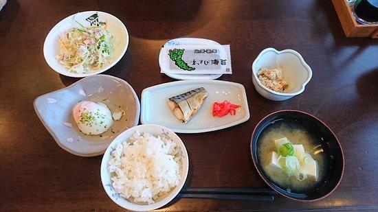 Hakuba Piemont Yamaju: 3日目の朝食