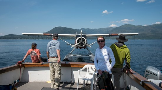 Southeast Sea Kayaks: It was a super adventure and the sea plane picked us up for a flight directly from the tour boat
