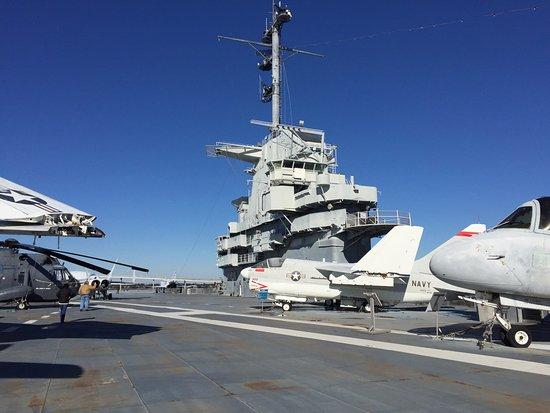 Mount Pleasant, Carolina del Sur: On board The USS Yorktown