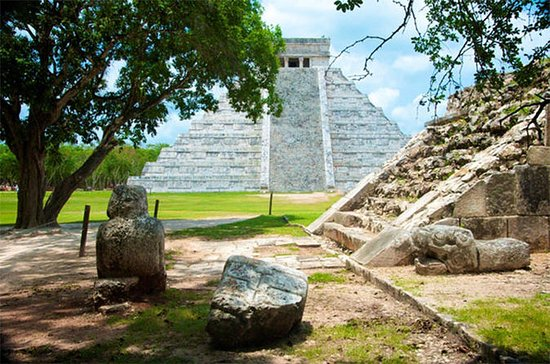 Chichen Itza, Coba Ruins with Lunch...