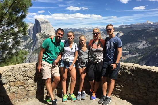 Yosemite and Glacier Point with...