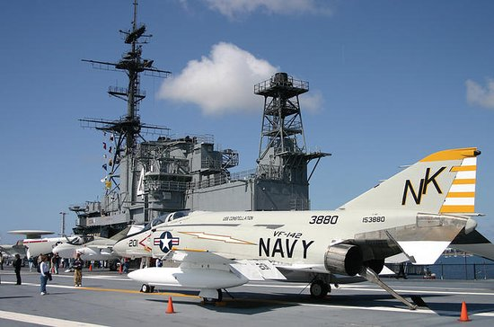 San Diego Waterfront USS Midway