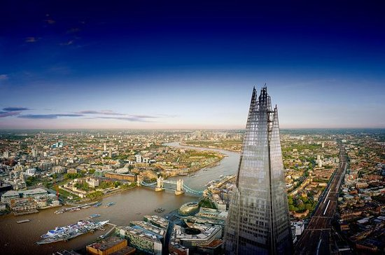 The View from The Shard Ticket with Champagne Option