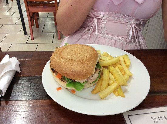 Best chicken burger in Gympie