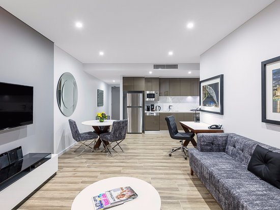 Mascot, Australia: Twin Suite with 1 Bedroom Living Area