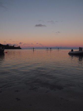 KiteSup Cook Islands: Night SUP