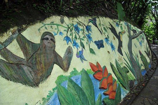 El Castillo, Costa Rica: Camino