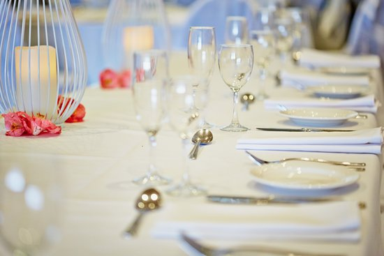 Wolli Creek, Australia: Wedding function table setting
