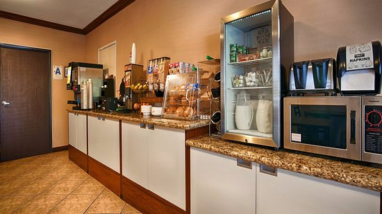 Santee, CA: A variety of breakfast foods. Stay and eat with us, or grab & go!