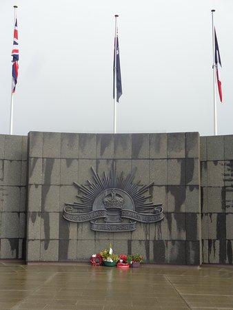 Martinpuich, France : Australian memorial