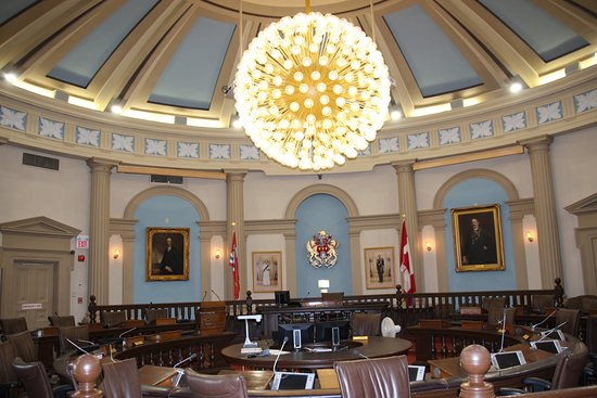 Kingston City Hall: der Gerichtssaal