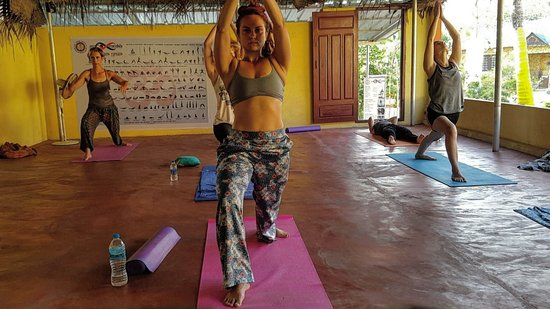 Yog Mandala: Strech, bend, push yourself, but most importantly- breath.