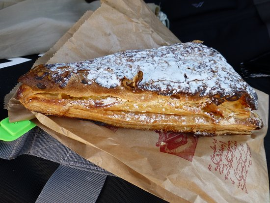 Neuville-sur-Ain, France : Lovely pastry from little bakery around corner from hotel.